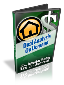 Deal Analysis on Demand