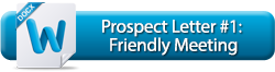 Prospect Letter #1: Friendly Meeting